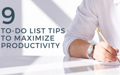 9 To-Do List Tips to Maximize Productivity