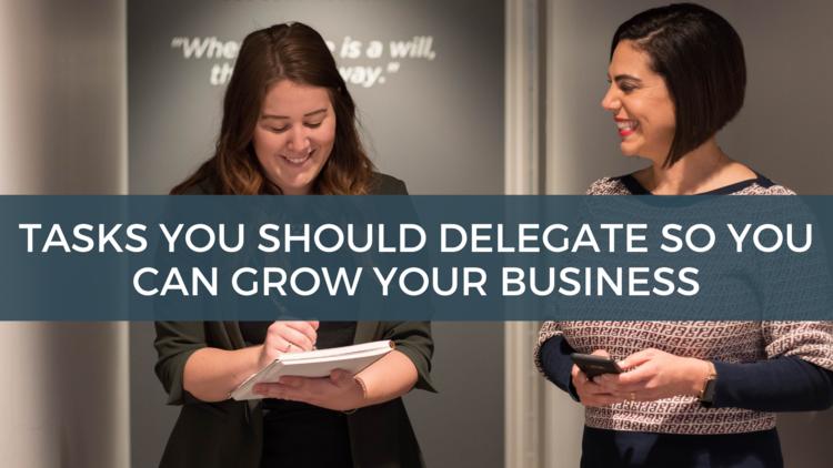 tasks you should delegate