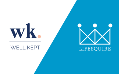 Lifesquire Partners With Well Kept for Organization Needs