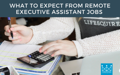 What to Expect from Remote Executive Assistant Jobs